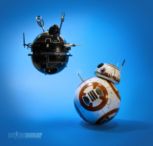Hot Toys BB-8 and Interogation Droid