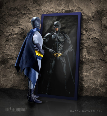 Hot Toys '66 Batman and The Dark Knight
